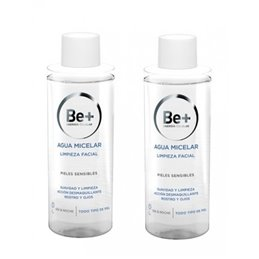BE+ DUPLO AGUA MICELAR  200 ML 2 U