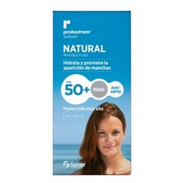 PROTEXTREM NATURAL INVISIBLE FLUID FPS50+